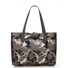 GUESS (Bobbi) Borsa Tote Shopper Reversibile Astuccio Camo/Grey MC642215