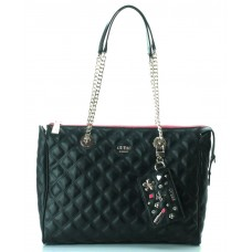 GUESS (Darin) Borsa Carryall Shopper Matelassè Trapuntato Catene Beauty EG668523