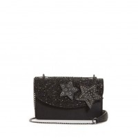 GUESS (Fall In Love Mini) Borsetta Pattina Glitter Stelle Nero GS679078