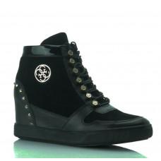 GUESS (Falan) Sneaker Zeppa Stringata Camoscio FLLAN3-SUE12