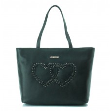 LOVE MOSCHINO Borsa Shopper Calf Cuore Ricamo JC4116PP14