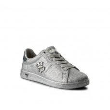 GUESS (Baysic) Sneaker Glitter Silver FLBYC1ELE12