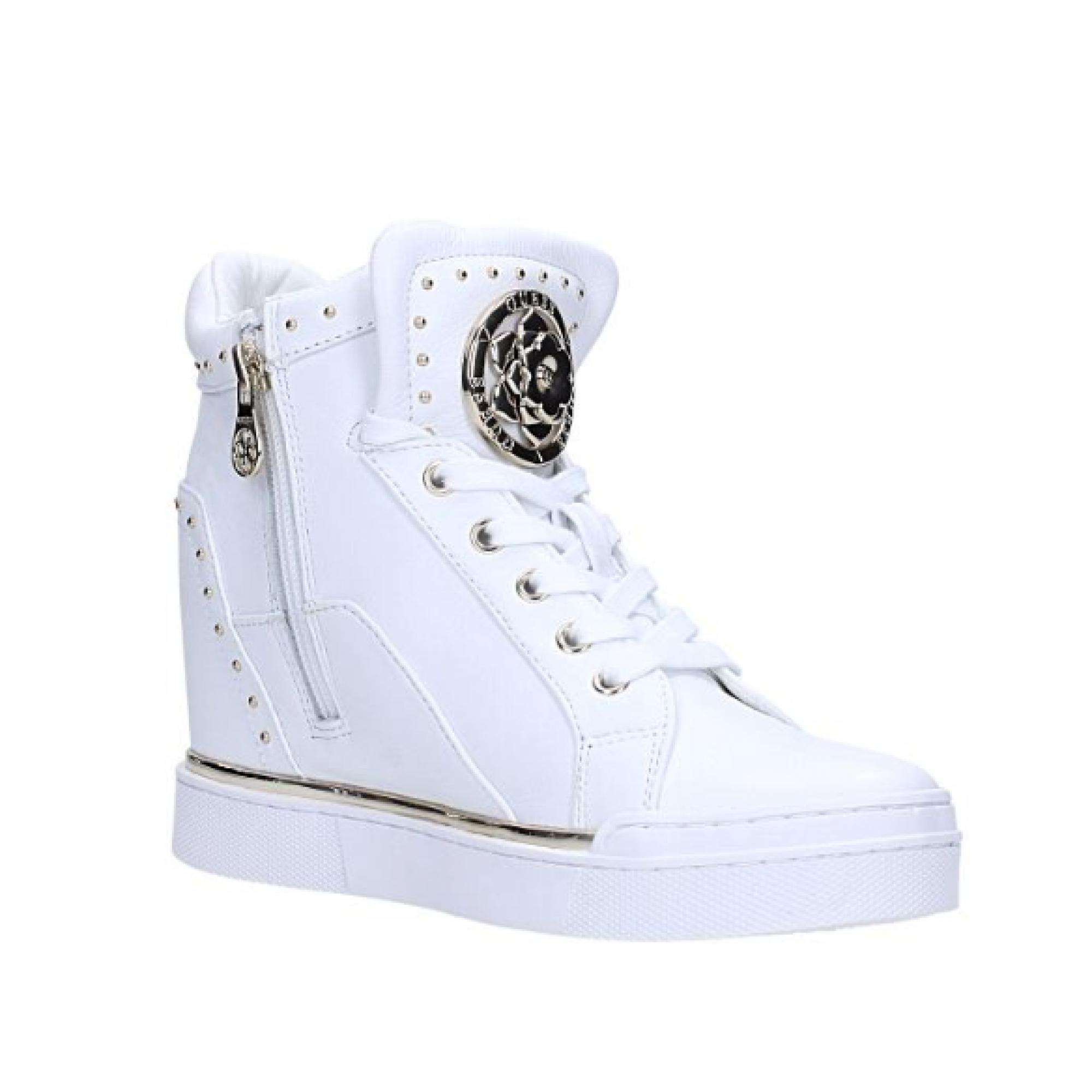 Cerniera Borchie Zeppa Spillla Sneaker Alta finer Pelle Guess AvtxwcqXYf 359b8ec2ab4