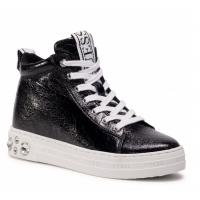 GUESS (Remmy) Sneaker Stivaletto Invecchiato Accessori Gioiello FL7REYLEL12