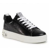 GUESS (Rivet) Sneaker Effetto Invecchiato Applicazione Gioielli FL7RITLEL12