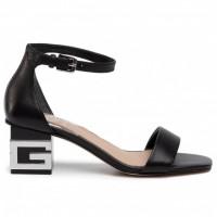 GUESS (Maeva) Sandalo Pelle Logo Tacco FL6EVALEA03