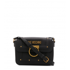 LOVE MOSCHINO Borsa Tracolla Pattina Anello Metallo JC4060PP1A