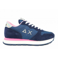 SUN68 (Ally) Scarpa Sneaker Corsa Camoscio Glitter Z30203