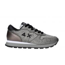 SUN68 (Ally) Sneaker Solid Glitter Argento Z40209