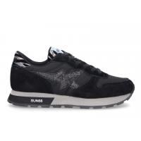 SUN68 (Ally) Sneaker Star Girl Nero Zebra Z40212
