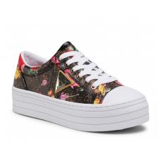 GUESS (Brodey) Sneaker Platform Zeppa Stampa Floreale FL5YB3FAL12