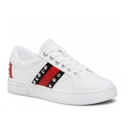 GUESS (Ricena) Sneaker Banda Applicazioni Borchie FL6RICPAT12
