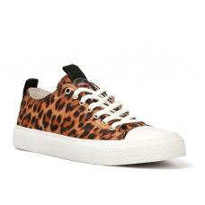 GUESS (Ederla) Sneaker Tessuto Animalier Gomma FL5ERLFAB12