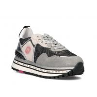 LIU JO (Maxi Wonder) Sneaker Camoscio Mesh Rete BA1057