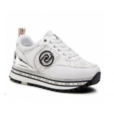 LIU JO (Maxi Wonder) Sneaker Camoscio White BA1061
