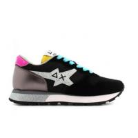 SUN68 (Ally) Sneaker Running Star Glitter Logo Z31210