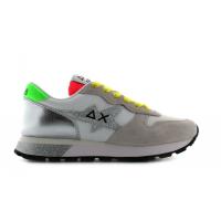 SUN68 (Ally) Sneaker Star Glitter Logo Z31210