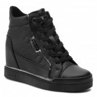 GUESS (Fabia) Sneaker Zeppa Stivaletto Stampa FL7FABELE12