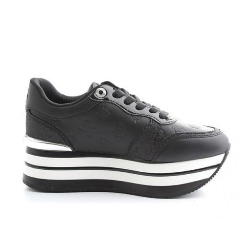 GUESS (Hinders3) Sneaker Fondo Platform Stampa Rilievo FL7HN3ELE12