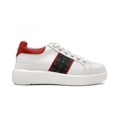 POLLINI Sneaker Pelle Stampa Logo TA15034G07