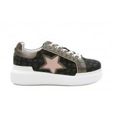 POLLINI Sneaker Stampa Logo Stella TA15044G07