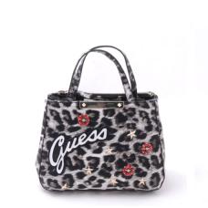 GUESS (Britta) Borsa Mano Tracolla Stampa Leopard LG669305