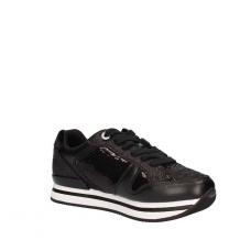 GUESS (Dameon) Sneaker Paillettes Glitter Fondo Strato Platform FLDA54FAB12
