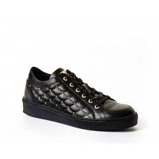 GUESS (Glinna) Sneaker Pelle Matelassè Borchie FLGLN3LEA12