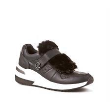 GUESS (Jinnia) Sneaker Ecopelle Zeppa 5 Pelliccia FLJIA4FAL12