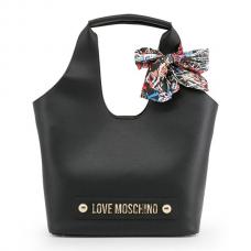 LOVE MOSCHINO Borsa Ecopelle Bonded Foulard Stampa Logo JC4120PP16LV