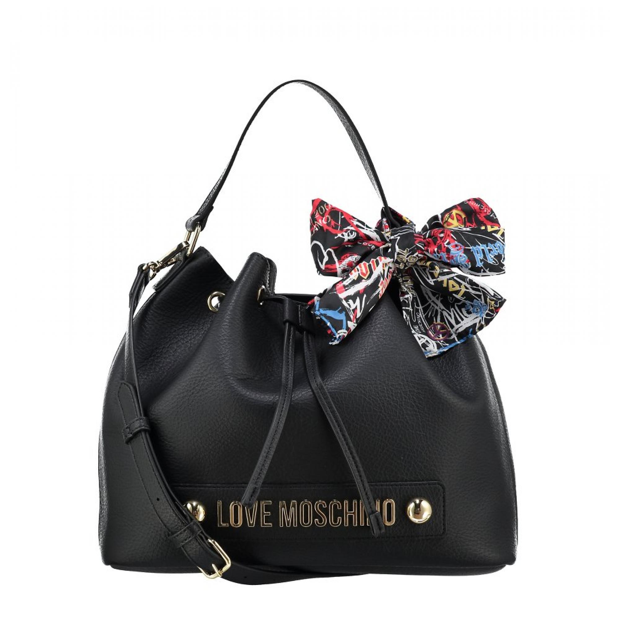 Love Stampa Borsa Moschino Logo Jc4122pp16lv Secchiello Foulard QdCeoBrxW