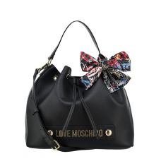 LOVE MOSCHINO Borsa Secchiello Foulard Stampa Logo JC4122PP16LV