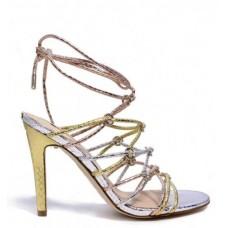 GUESS (Aeyla) Sandalo Pelle Multi Fasce FLAEY1PEL03