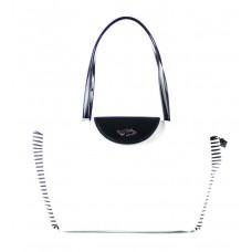 BRACCIALINI (Curvy) Borsa Shopping Ecopelle Donna Righe B10303